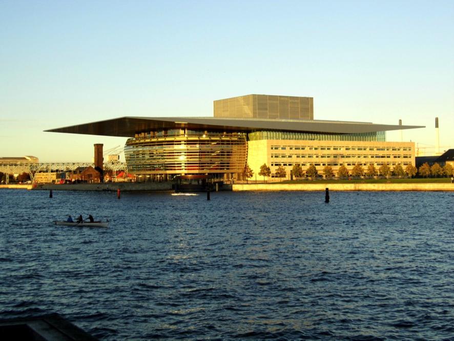 Die neue Oper in Kopenhagen, gestiftet vom Großreeder Mærsk