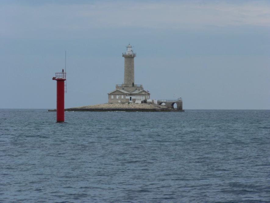 Leuchtturm Porer am Kap Kamenjak, Südspitze Istriens