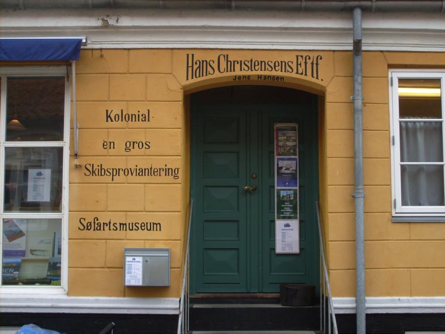 Seefahrtsmuseum in Marstal auf Ærø im ehemaligen Kolonialwarenladen und Schiffsausrüster